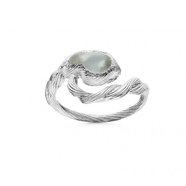 Maanesten Whirlpool ring sølv - 4748C
