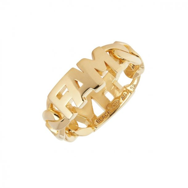 Maria Black Family ring forgyldt - 500400YG