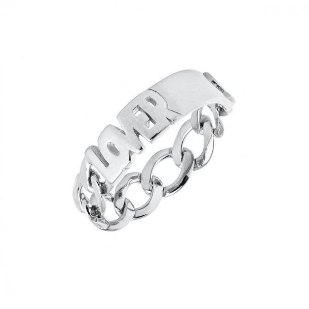 Maria Black Lovers ring sølv - 500402AG