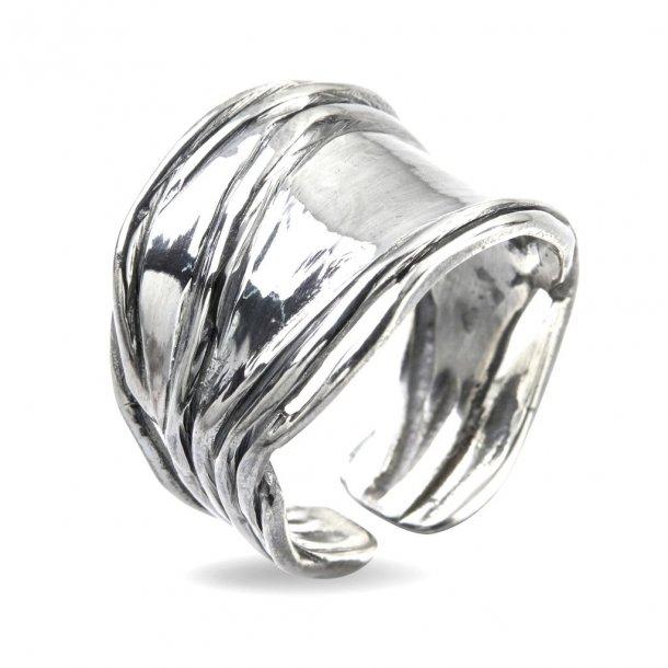 By Birdie Ring Nebula Silver Slim Polished - 50110202