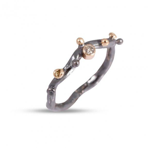 By Birdie Grace Single ring 1 diamant 0,05 ct - 50110230