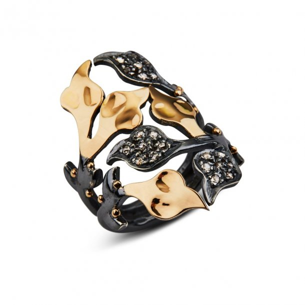 By Birdie ring Dover 0,25 ct pavé - 50110236