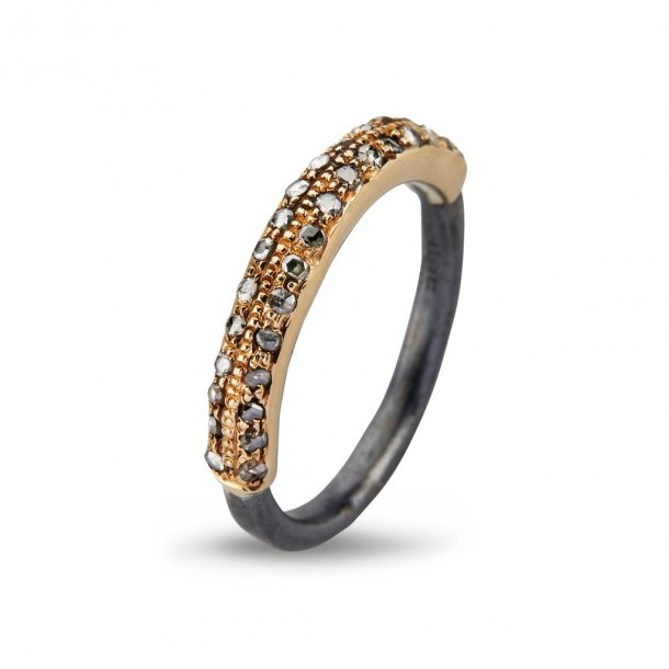 By Birdie Victoria Plain Pave ring - 50110260