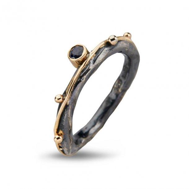 By Birdie Zeus Single Saphire ring - 50110267