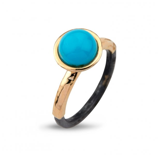 By Birdie Victoria ring turqoise - 50110272A