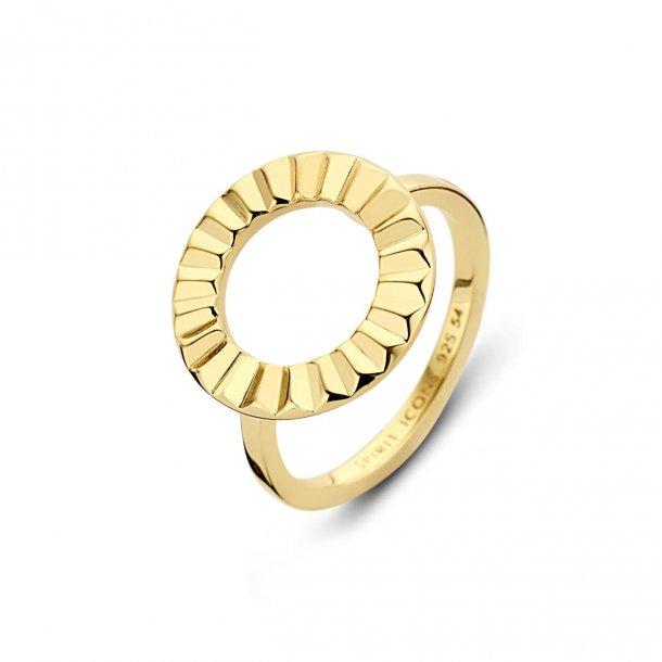Spirit Icons PEAK ring i forgyldt sølv - 51172