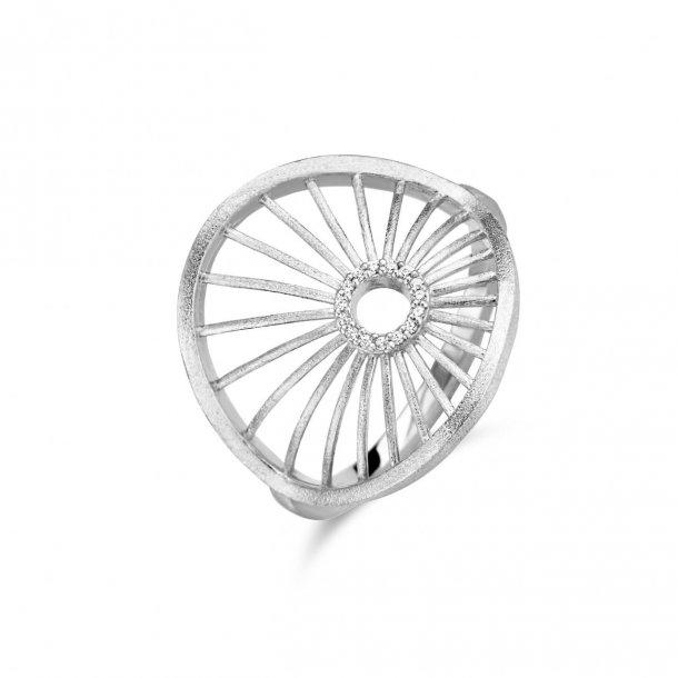 Spirit Icons Aura ring i sølv med zirkonier - 51251