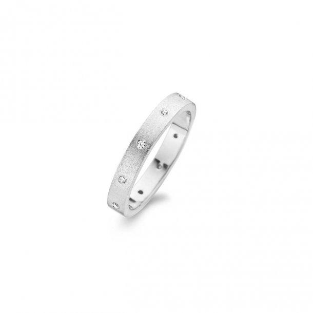 Spirit Icons Raw sølv ring Rustic - 53181