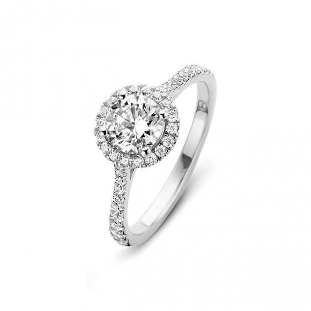 Spirit Icons Romance ring i sølv - 53501