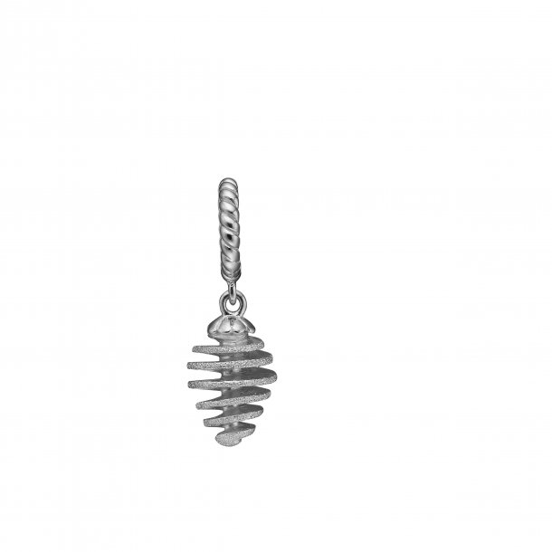 CHRISTINA sølv Twisted drop - 610-S71