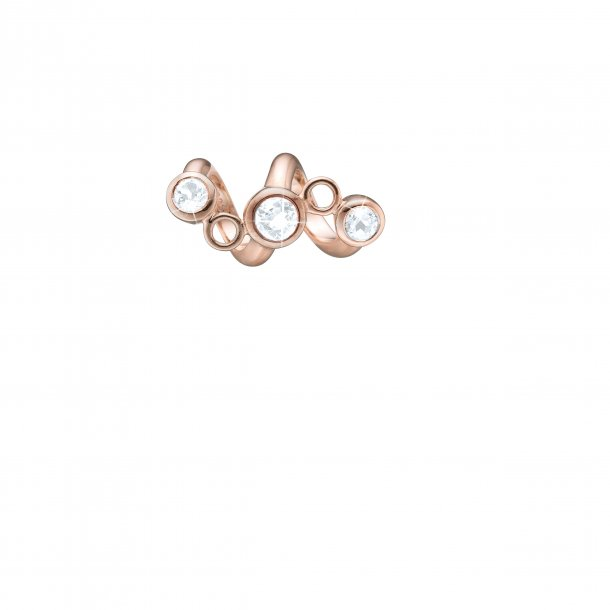 Christina rosaforgyldt Topaz Twist charm - 630-R137
