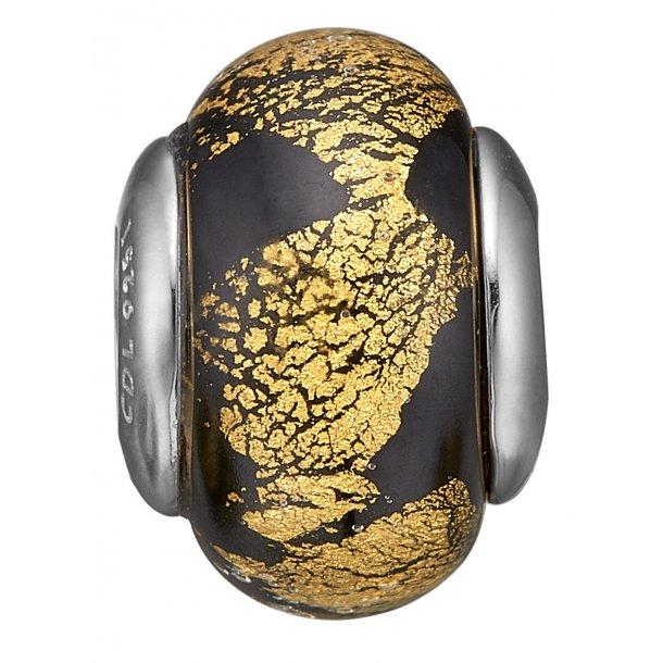Christina sølv Golden Black Globe - 630-S156