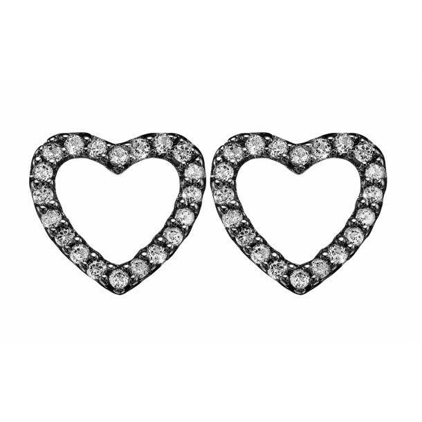CHRISTINA Topaz sparkling hearts - 671-B46