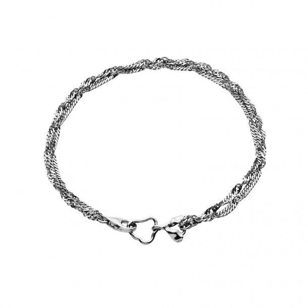 Maanesten Canna armbånd i sølv - 8550C