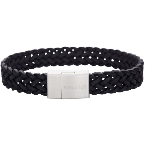 SON Herre armbånd sort kalvelæder  - 897 011-BLACK19