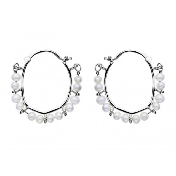 Maanesten Calaya øreringe i sølv - 9655C