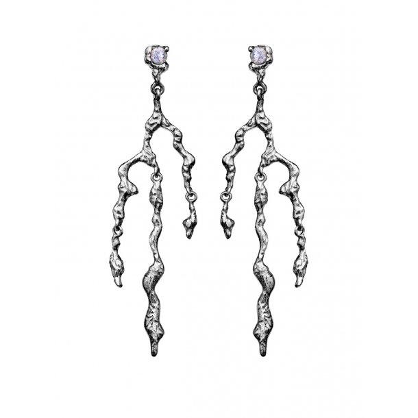 Maanesten Nori øreringe i sølv - 9656C