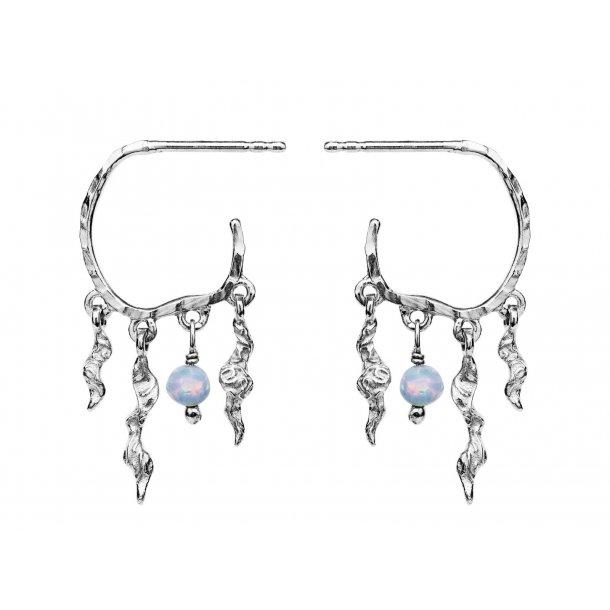 Maanesten Bayou øreringe i sølv - 9664C