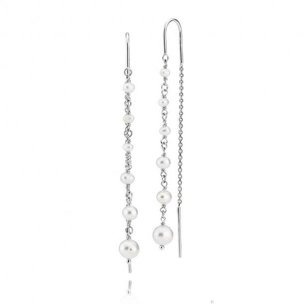 Izabel Camille Paradise øreringe i sølv - a1710sws-white