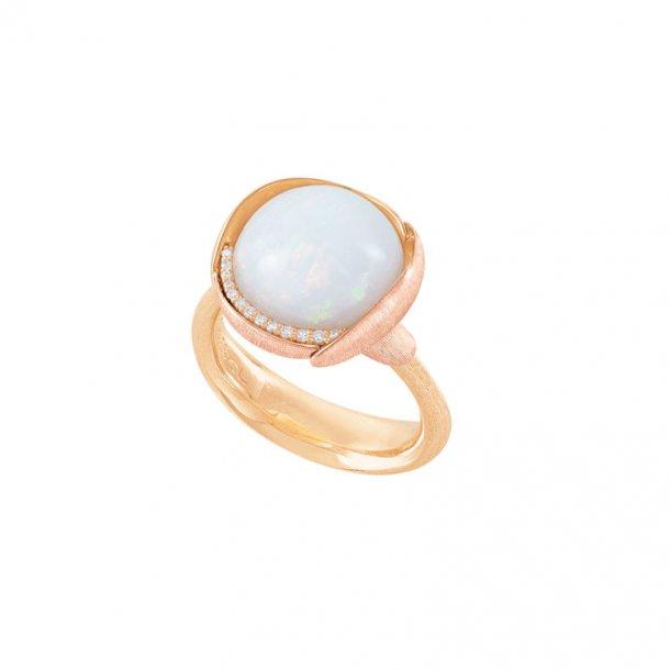 Ole Lynggaard Lotus 3 ring med opal - A2652-428