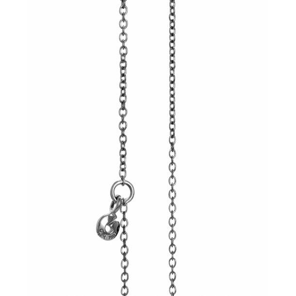 Ole Lynggaard oxideret sølv anker kæde - C0071-303