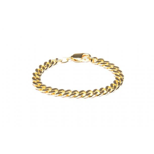 Frederik IX Chunky Curb Bracelet - DMV0318GD