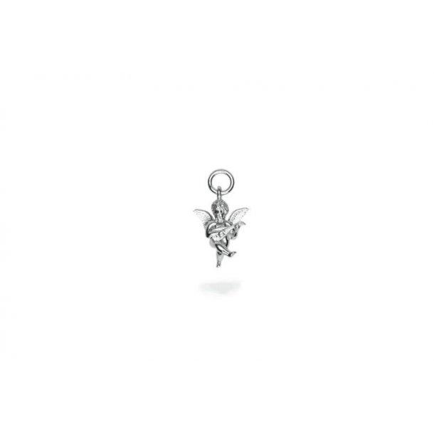 Frederik IX Angel sølv charm - DMM0316RH