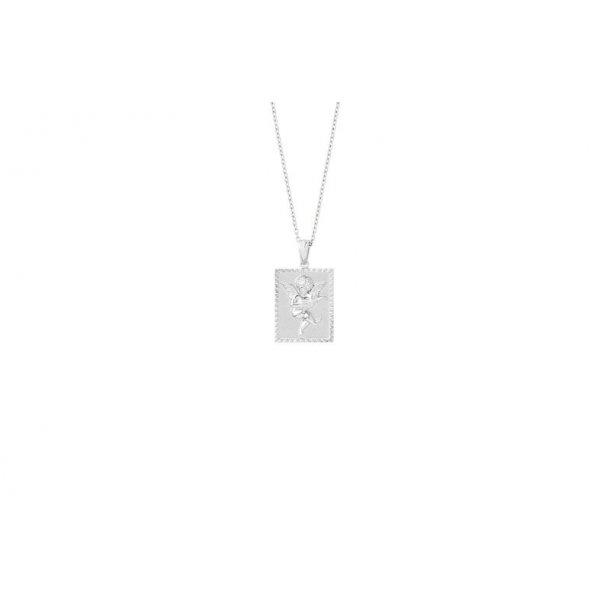Frederik IX sølv Angel halskæde - DMM0302RH