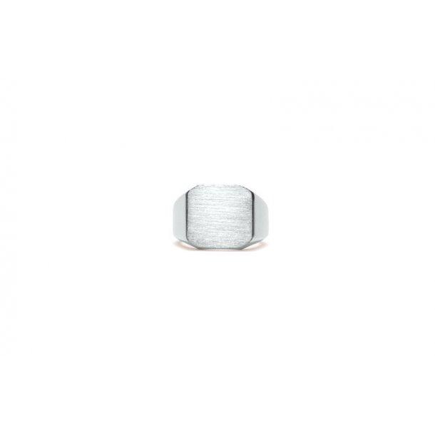 Frederik IX Octagon Signet ring - DMN0290RH