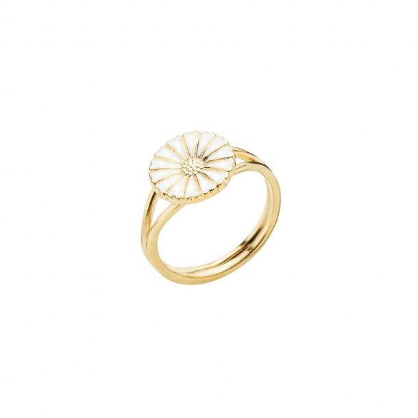 LUND Copenhagen marguerit ring m 1 blomst - 907011-M
