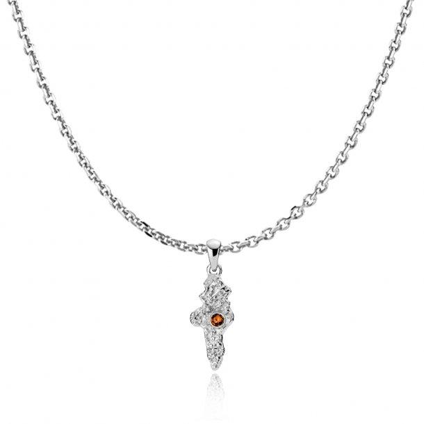 Sistie Silke halskæde med vedhæng - zs20212sws-45