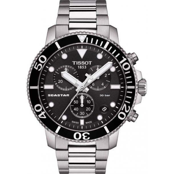 Tissot Seastar 1000 herreur - T1204171105100