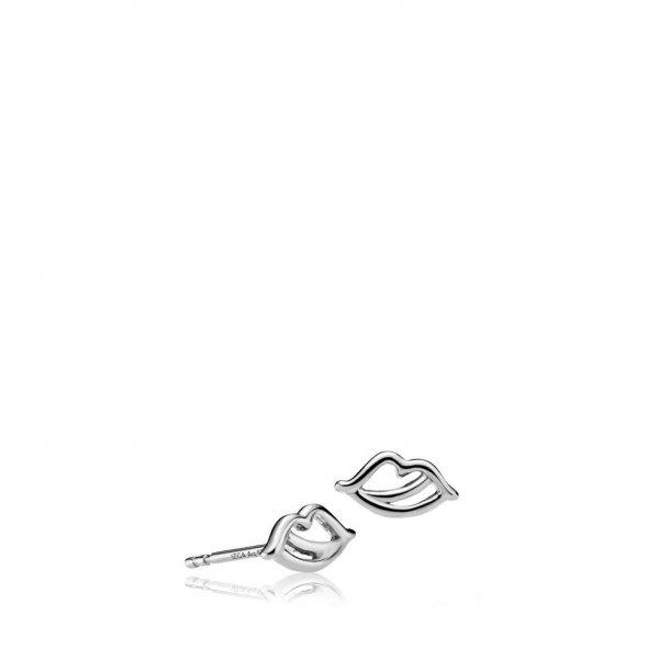 Sistie The Kiss øreringe sølv - z1032sws