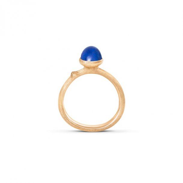Ole Lynggaard Lotus 0 ring rødguld med lapis - A2708-413