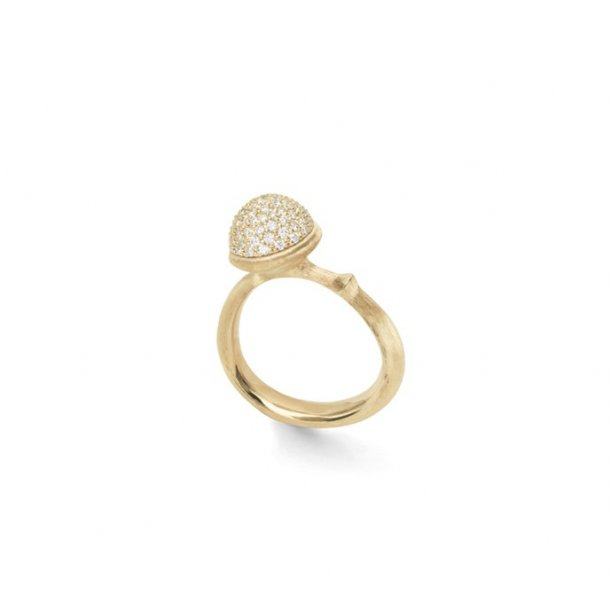 Ole Lynggaard Lotus Pavé ring - A2711-402