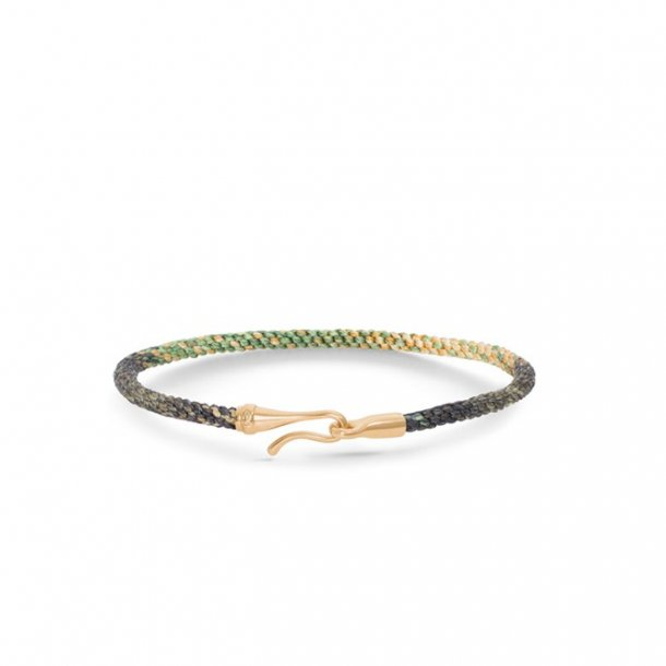 Ole Lynggaard Life armbånd - safari guld - A3040-405