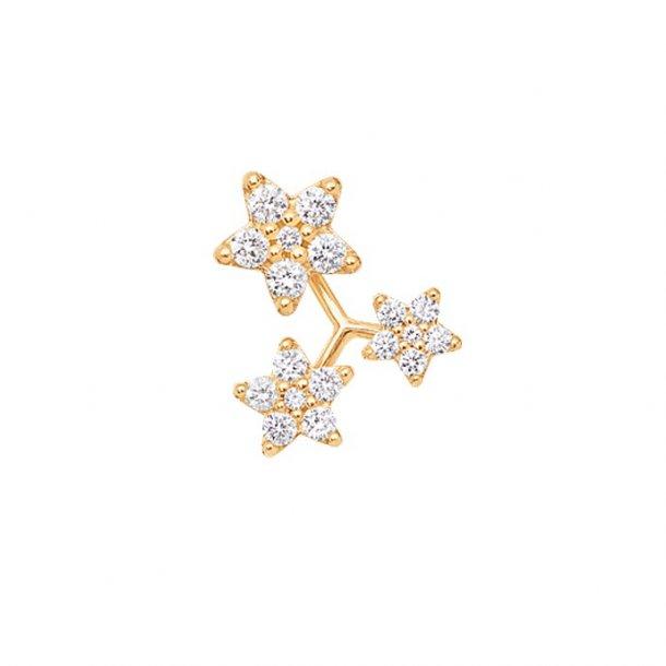 Ole Lynggaard 3 Shooting stars ørestik, enkeltvis - A3089-401