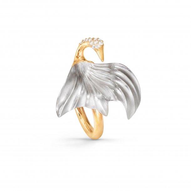 Ole Lynggaard Trane ring, lille - A3092-402