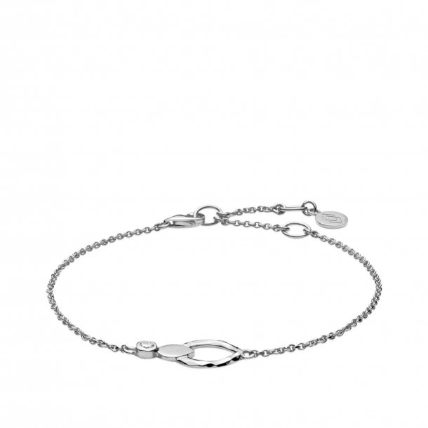 Izabel Camille Cecilie Schmeichel armbånd i sølv - a3124sws
