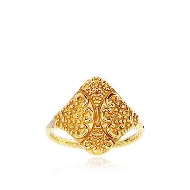 Izabel Camille forgyldt Bohemian ring - a4155gs