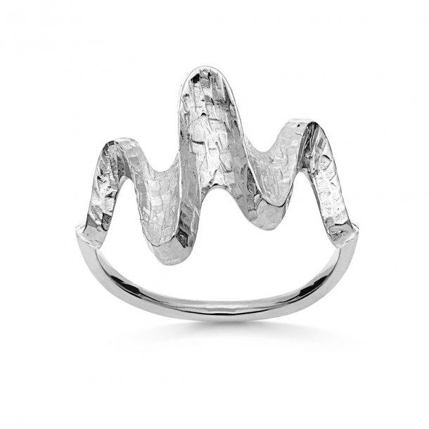 Maanesten Bay ring sølv - 4720C
