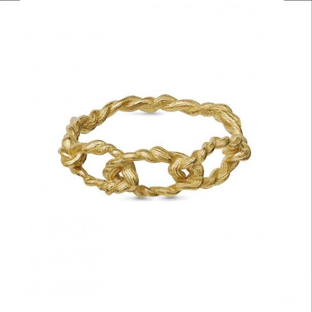 Maanesten Fahima ring forgyldt - 4758A