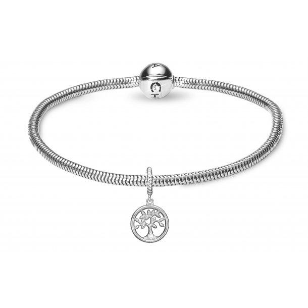 Kampagne Valentine Diamond Tree of Life sølv - 615-VAL.2019-S