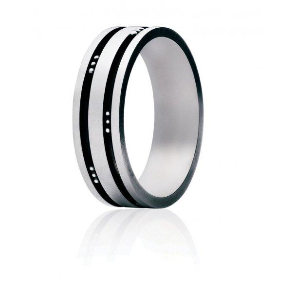 Georg Jensen Groove Mens Classic ring - 3550780