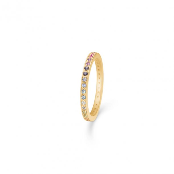 Mads Z Poetry Rainbow 14 kt. ring - 1544061
