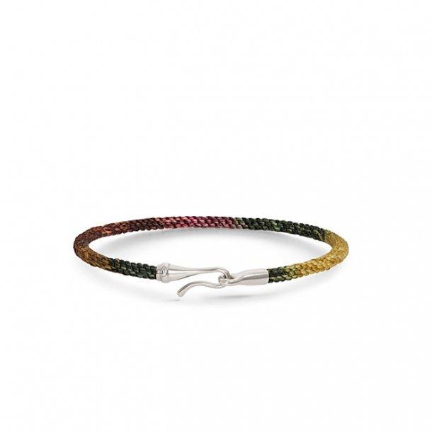 Ole Lynggaard Life armbånd med sølv, Plum - A3040-310