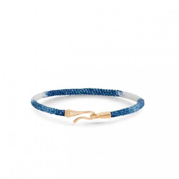 Ole Lynggaard Life armbånd - blå guld - A3040-401