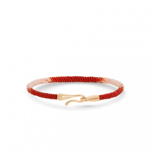 Ole Lynggaard Life armbånd - rød guld - A3040-402