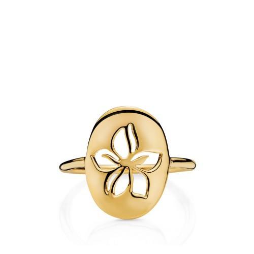 Izabel Camille HIBISCUS ring - A4142gs HIBISCUS forg. 54