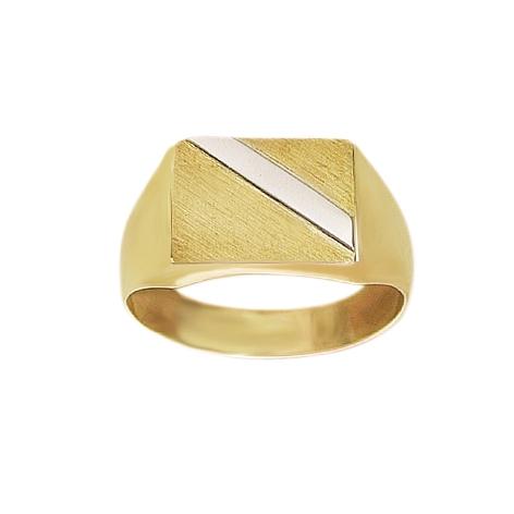 8 kt Herre ring - 0871336R Størrelse 64